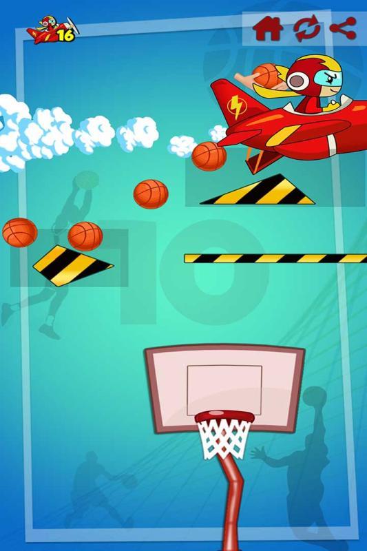 特技籃球高高手截圖