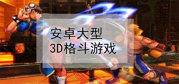 安卓大型3d格斗游戏