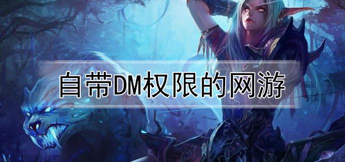 自带DM权限的网游