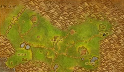 魔兽世界怀旧服阿拉希高地飞行点在哪