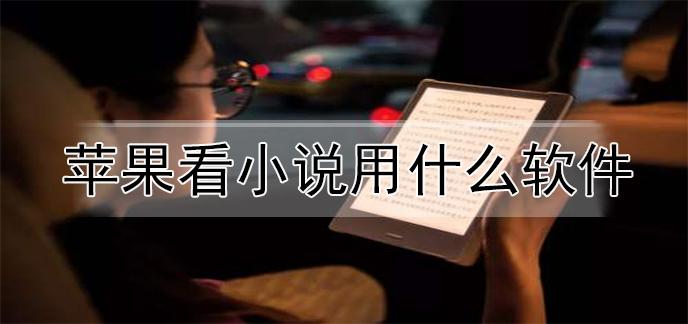 苹果看小说用什么软件
