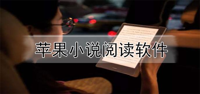 苹果小说阅读软件