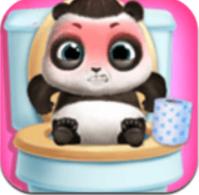 照顧熊貓寶寶璐璐