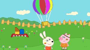 兔宝宝逛游乐园