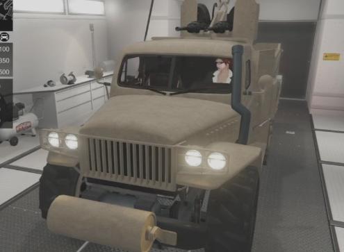 gta5半履战车