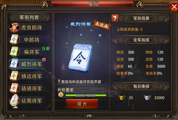 大兵小将变态版军衔系统怎么玩-军衔系统玩法攻略