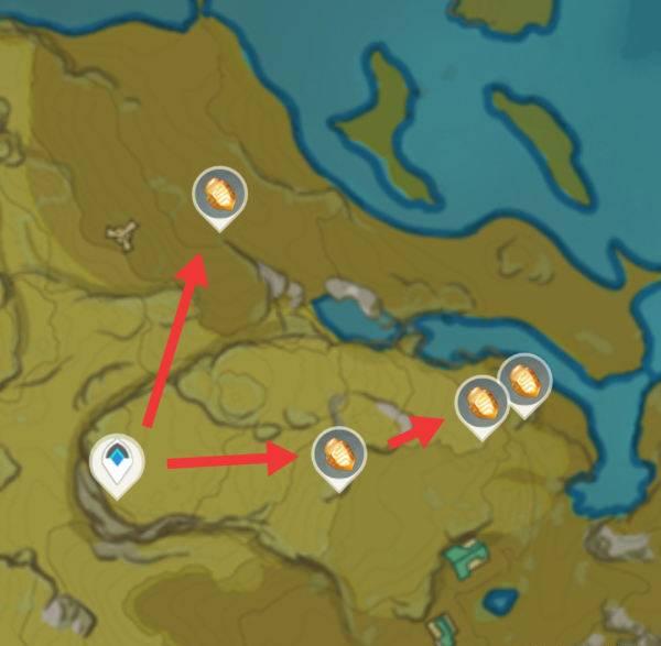 石珀采集路线三